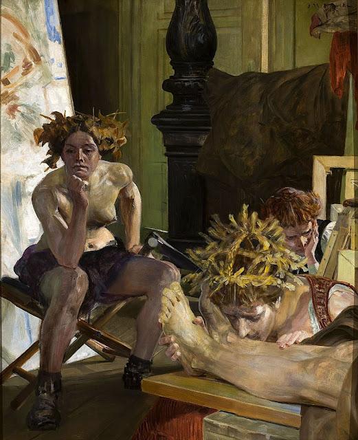Jacek Malczewski - La morte dell'artista