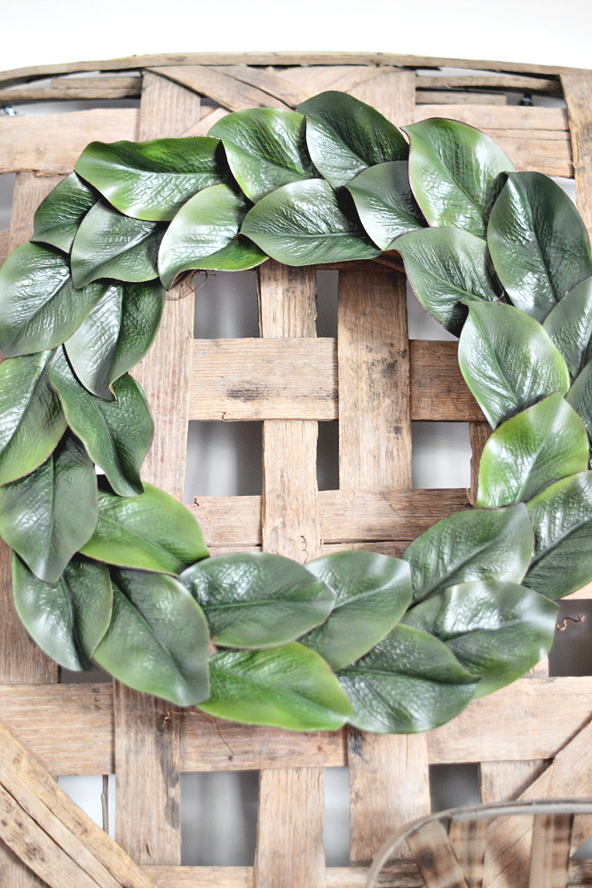 The Life Of Jennifer Dawn DIY Magnolia Wreath for Less
