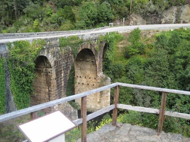 Puente Bibei en A Pobra de Trives