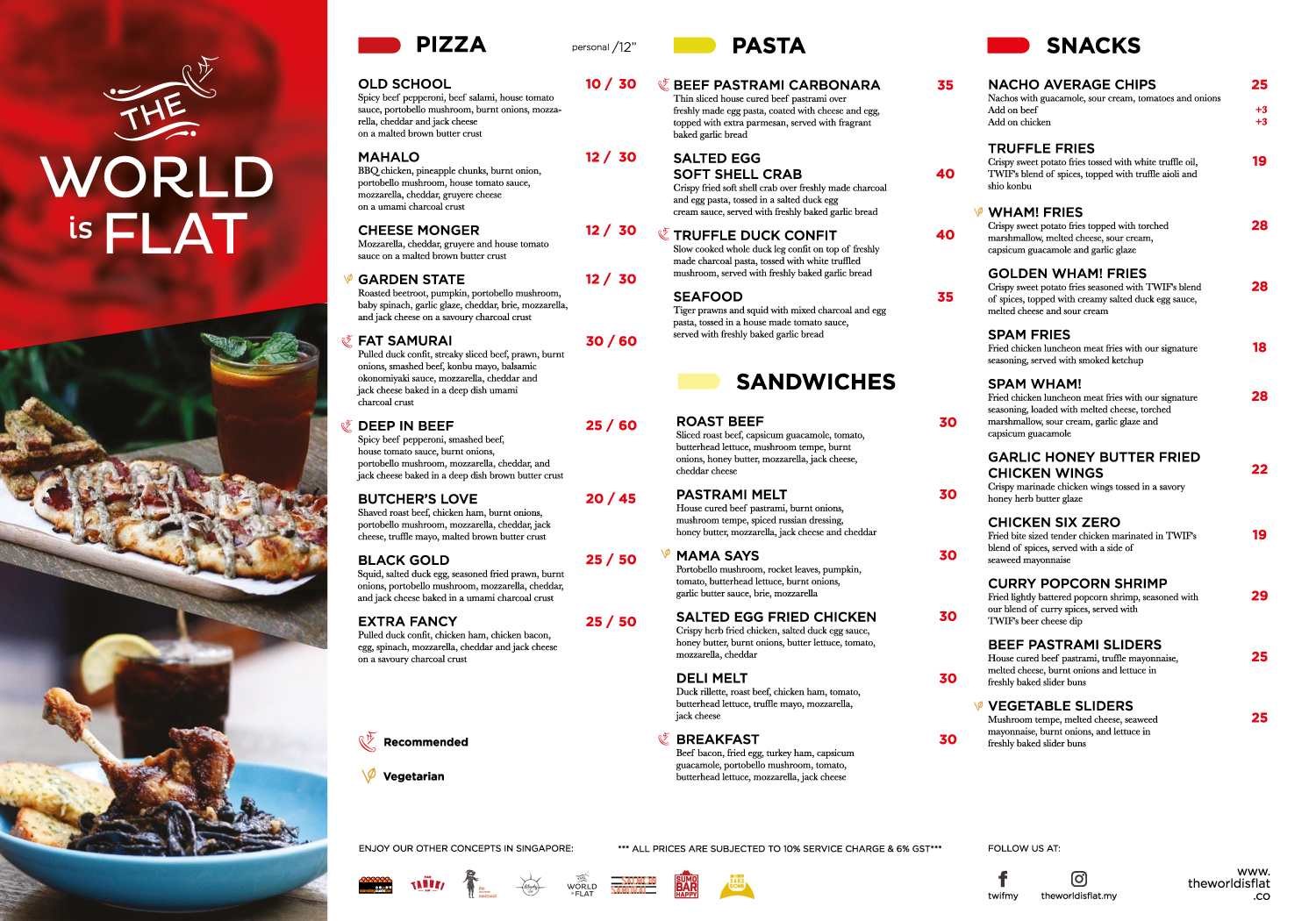 GoodyFoodies: The World is Flat at The Bee, Publika, KL: Pizza ...