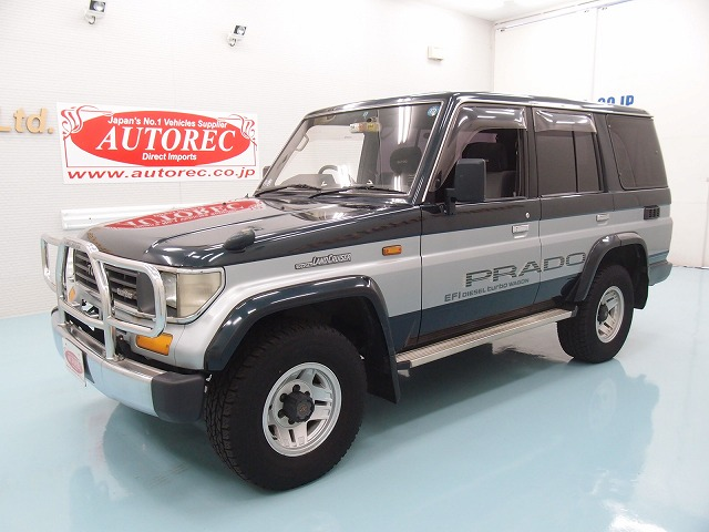 19557TAN7 1993 Toyota Landcruiser Prado SX Limited 4WD for Mozambique to Maputo