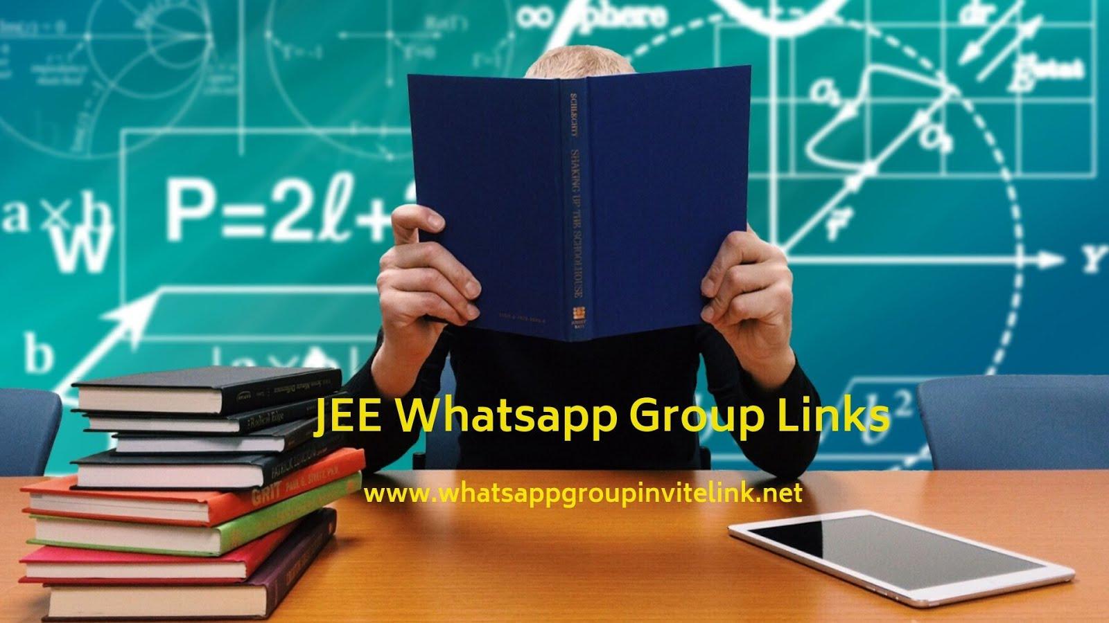 Whatsapp Group Invite Links: JEE Whatsapp Group Links