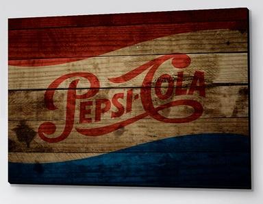 Produtos de decoração da Pepsi - Placa Decorativa Pepsi Retrô