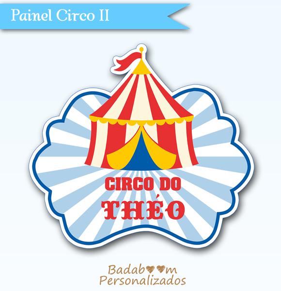arte digital, Circo, Circus, painel, elipse, carnival, festa, badaboom
