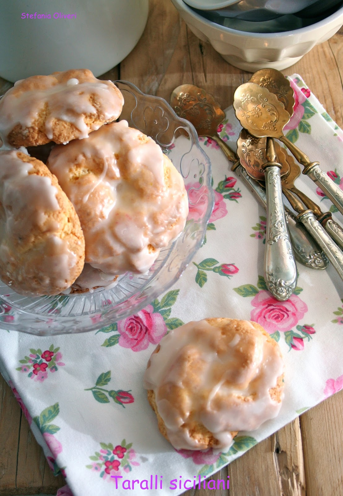 Taralli siciliani, biscotto morbido senza glutine Cardamomo & co
