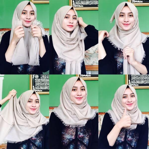 Tutorial Hijab Remaja Simple Hijabfest