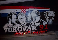 TORCIDA BRAČ grafiti mural Vukovar Pražnica slike otok Brač Online