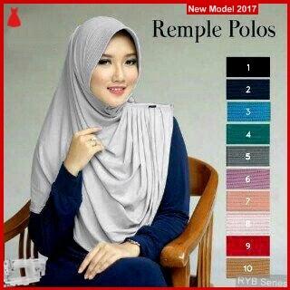 RYB009B Hijab Jilbab Cantik Instant Murah Remple BMG Online Shop