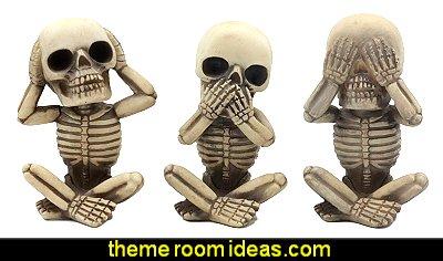 Gothic kitchen decor - gothic kitchenware - gothic dinnerware - skulls kitchen decorations - bat kitchen decor  dracula  vampires - Halloween kitchen decorating - skeletons kitchen decor -  zombie kitchen stuff