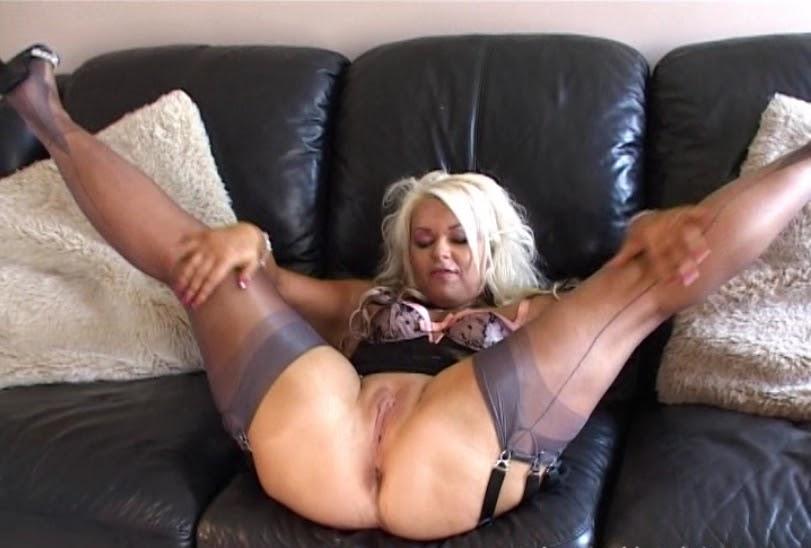 wife black stockings garters xxx sex