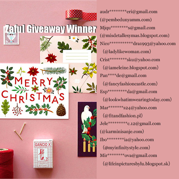 $100 GIFT CARD GIVEAWAY WINNERS