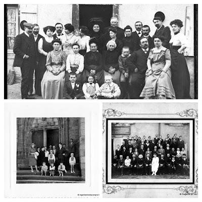 album photo noir et blanc Mariages