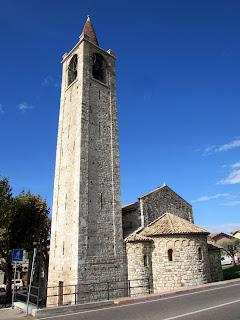 Italia. Italy. Italie. Veneto. Bardolino. Lago di Garda. Iglesia de san Severo