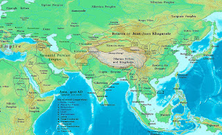 Bulgars Kutrigurs originated from Kidarites Yuezhi Huns