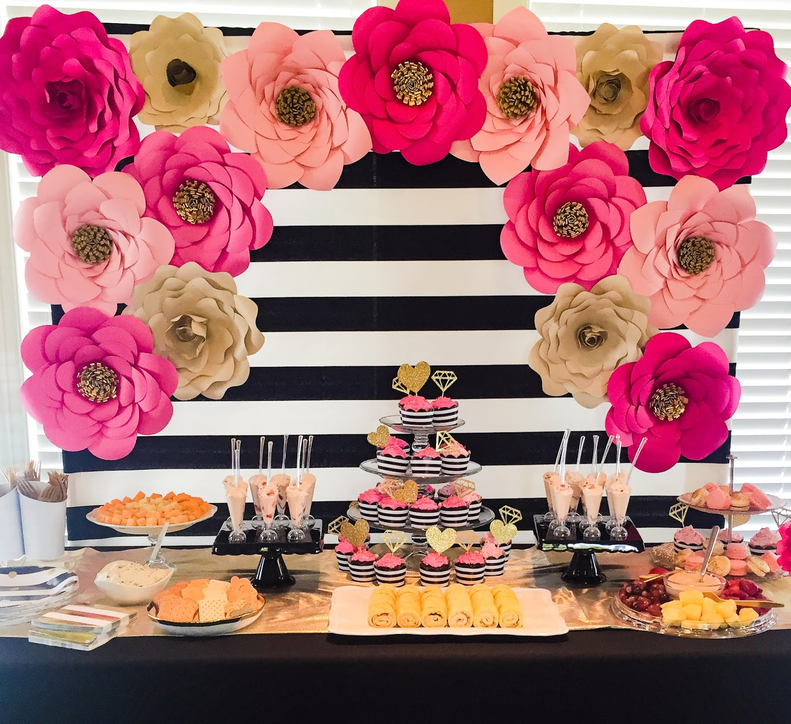 Faith, Trust, & Pixie Dust: Kate Spade Bridal Shower