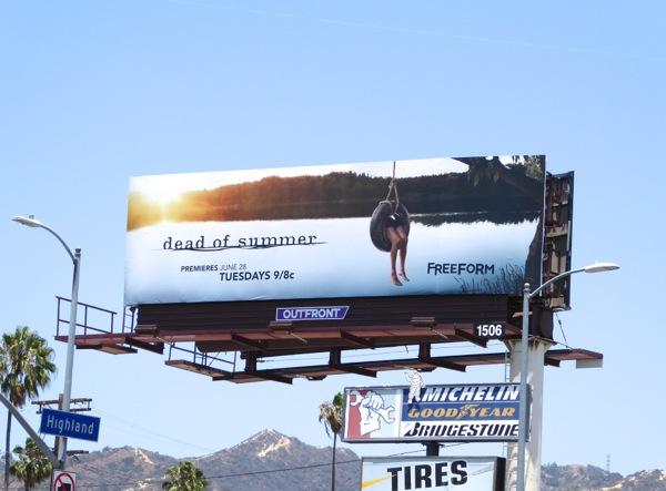 Dead of Summer series launch billboard