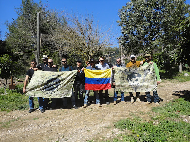 17.03.2019 - Colombian 3 The End - Paintball Hellas Βαρυμπόμπη