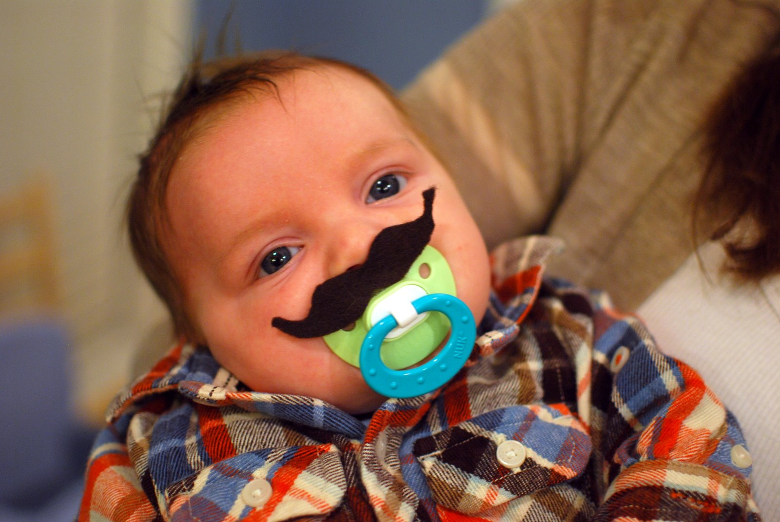 Kathryn Church Designs Baby Boy Mustache Shower