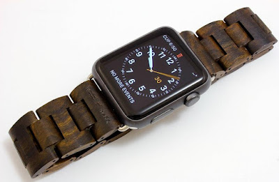 Handcrafted Wooden Band for Apple Watch
