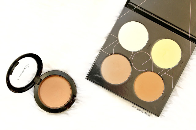 powder contour products, MAC Harmony, Zoeva contour palette