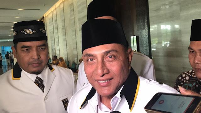 Djarot Dibilang Pengalaman, Edy Rahmayadi: Seluruh Indonesia Saya Pimpin