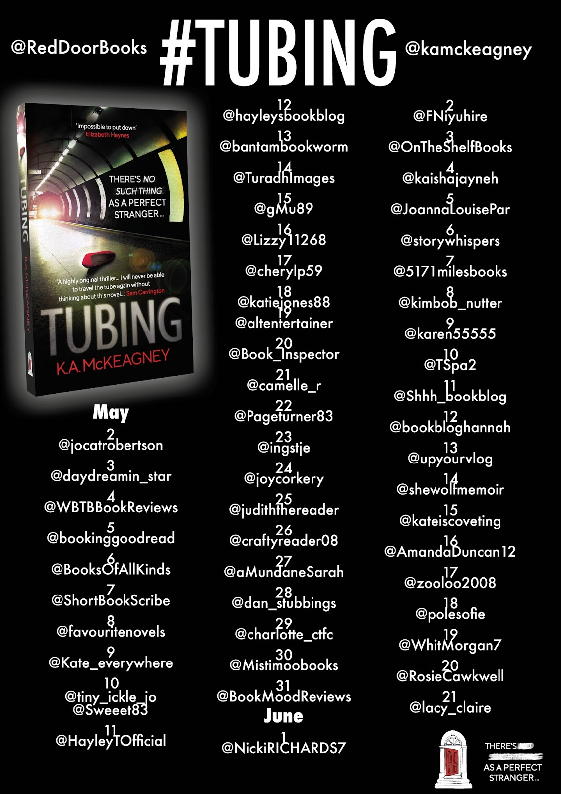 Tubing by K.A McKeagney | Book Tour Review
