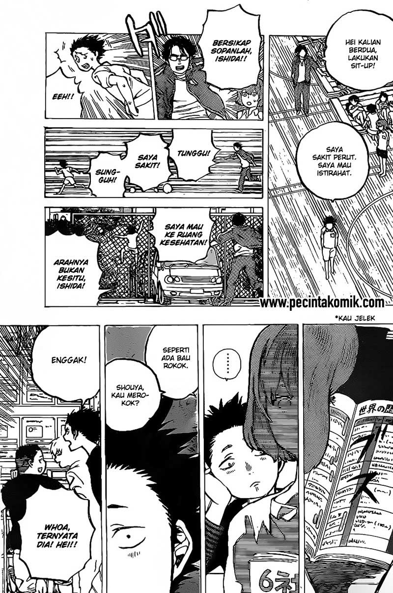 Koe no Katachi Chapter 04-5