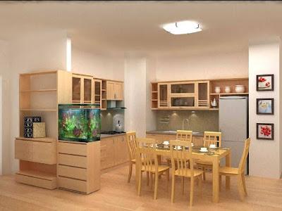 Lựa chọn sàn gỗ cho không gian phòng bếp 1