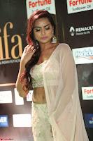 Prajna Actress in backless Cream Choli and transparent saree at IIFA Utsavam Awards 2017 0058.JPG
