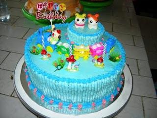 Resep kue ulang tahun pertama anak lucu dan kreatif