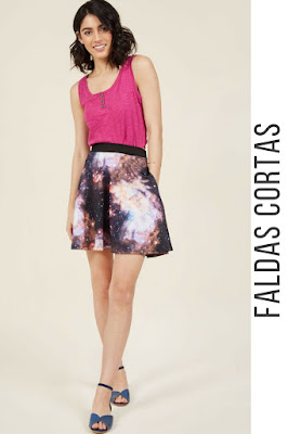 Faldas cortas de vestir
