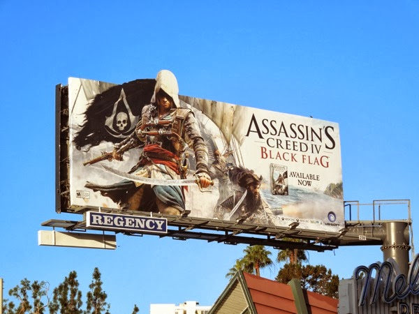 Assassins Creed IV Black Flag game billboard