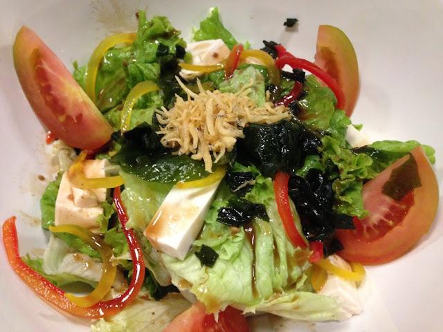 kuliner salad sayuran mentah ala jepang