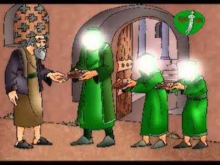 قصص عربية  كثرة اللُّقَم تطرد النِّقَم