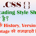 What is CSS in Hindi, CSS क्या है ? what is Cascading Style Sheet in Hindi
