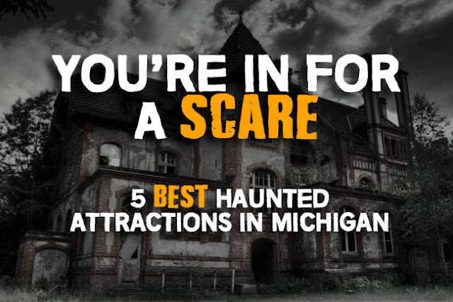 Awesome Youu0027re In For A Scare: 5 Best Haunted Attraction In Michigan. BAY CITY ...
