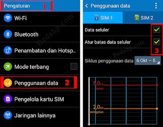 Batas Penggunaan Data