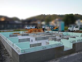 新築工事 完全自由設計 O邸 島根県浜田市 浜松建設株式会社 棟上げ