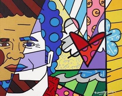 Obras de Romero Britto - Pessoas Famosas