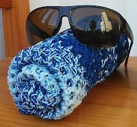 Free crochet pattern for mesh bag