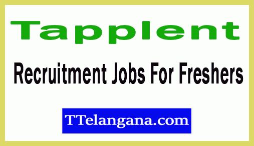 Tapplent Recruitment Jobs For Freshers Apply