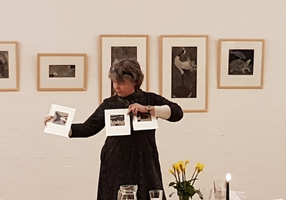 Trine Anderschou med grafik