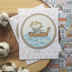 Ciao bella by Milene features Newton Dreams of Italy by Newton's Nook Designs; #newtonsnook