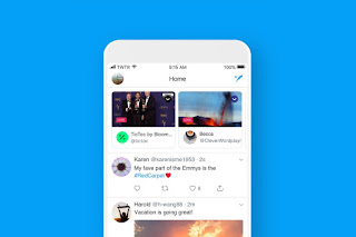 Twitter now puts live broadcasts