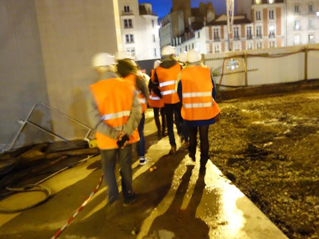 Allez, c'est parti pour la visite de la station de métro Saint-Germain en cours de construction !
