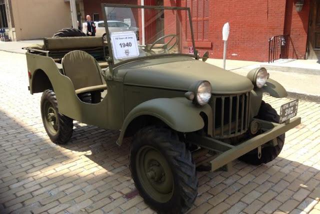 Mobil Jeep Bantam Pilot 1940