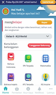 belajar bersama ruang guru on the go smart