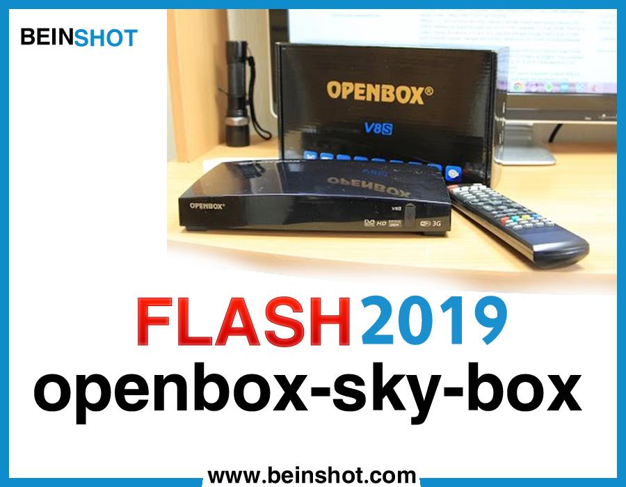 التحديث الأخير و الرسمي لجهاز openbox-sky-box 2019