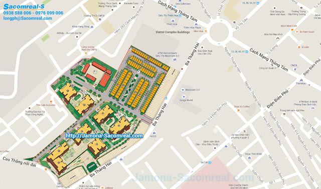 Vị trí độc đáo của dự án Hà Đô 756 Sài Gòn