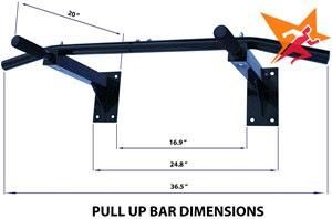 Xà đơn đa năng treo tường Wall Pull Up Bar P90X giá rẻ